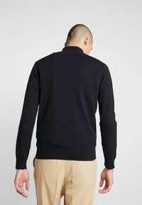 Jack & Jones PREMIUM - JPRLARS HIGH NECK - Pullover - black - 2
