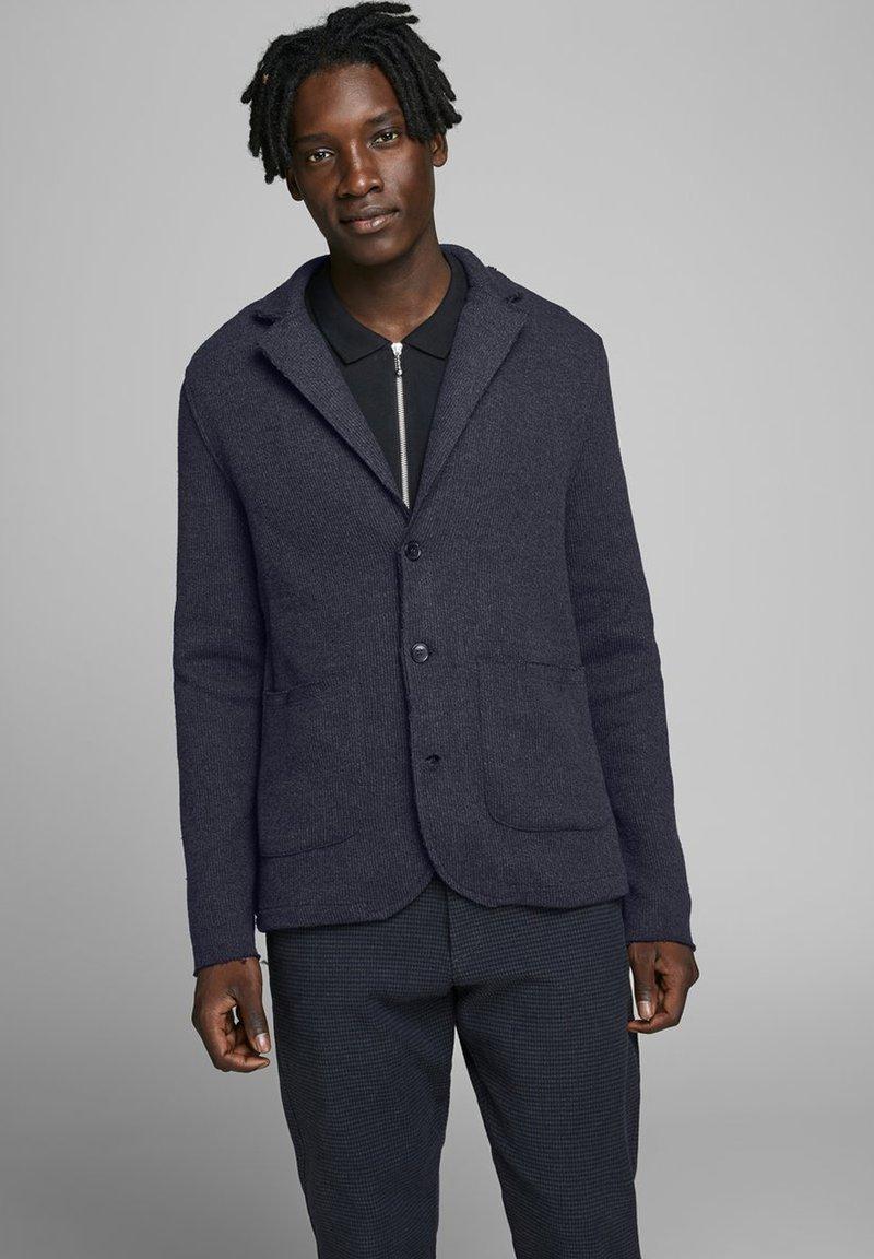 Jack & Jones PREMIUM - Blazer jacket - navy blazer