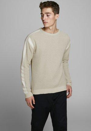 JPRHARRISON CREW NECK  - Pullover - silver birch
