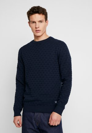 JPRBLAKE CREW NECK - Jersey de punto - navy blazer