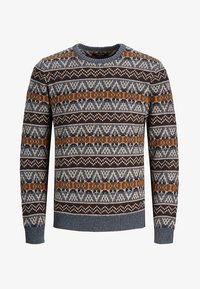 Jack & Jones PREMIUM - Stickad tröja - burnt orange - 6