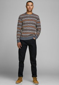 Jack & Jones PREMIUM - Stickad tröja - burnt orange - 1
