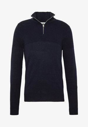 JPRBLA BILLY HALF ZIP - Pullover - navy blazer