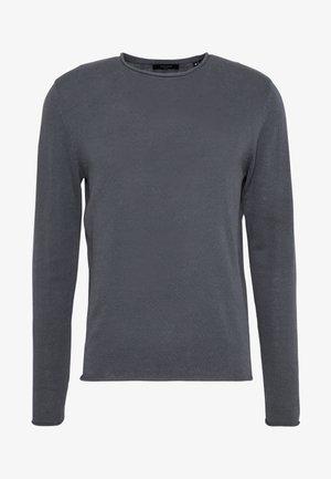 JPRBLALINEN CREW NECK - Jersey de punto - dark dusty blue