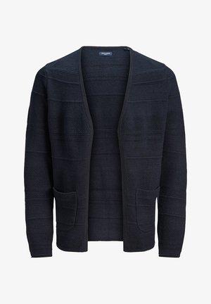 STRICKJACKE KLASSISCHER - Gilet - navy blazer