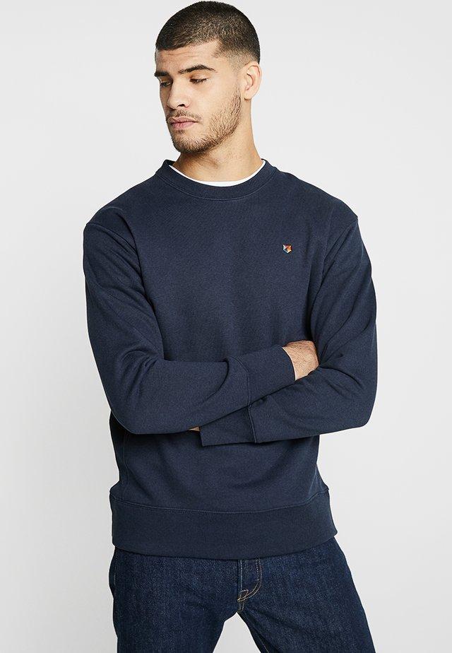 JPRLOGAN CREW NECK - Sweatshirt - navy blazer