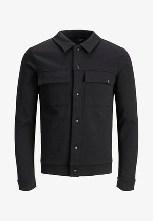 JPRHAL - veste en sweat zippée - black