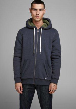 JPRJASON HOOD JACKET - veste en sweat zippée - blue