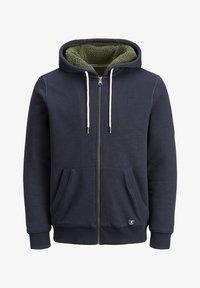 Jack & Jones PREMIUM - JPRJASON HOOD JACKET - Zip-up hoodie - blue - 5