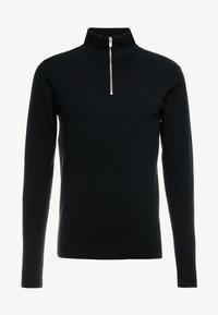 Jack & Jones PREMIUM - JPREDGAR HALF ZIP - Trui - black