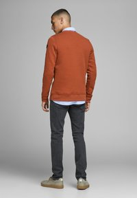 Jack & Jones PREMIUM - BASIC - Sweatshirt - hot spicy - 2
