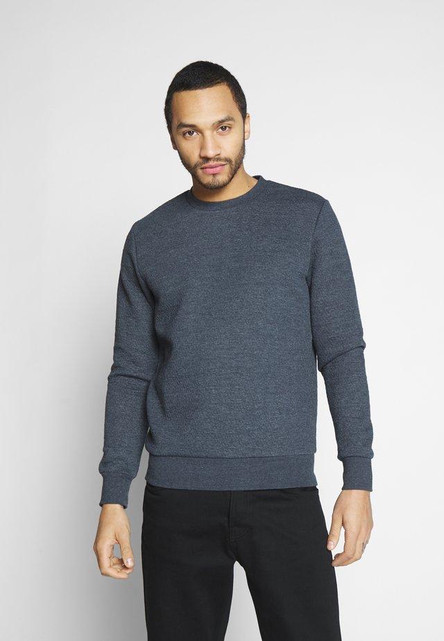 JPRSTEVIE SWEAT CREW NECK - Sweatshirt - dark navy/melange