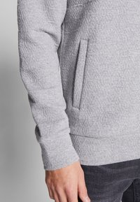 Jack & Jones PREMIUM - JPRSTEVIE SWEAT ZIP CARDIGAN - Sweatjacke - grey melange/melange - 5