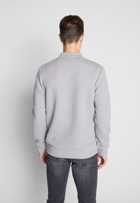 Jack & Jones PREMIUM - JPRSTEVIE SWEAT ZIP CARDIGAN - Sweatjacke - grey melange/melange - 2