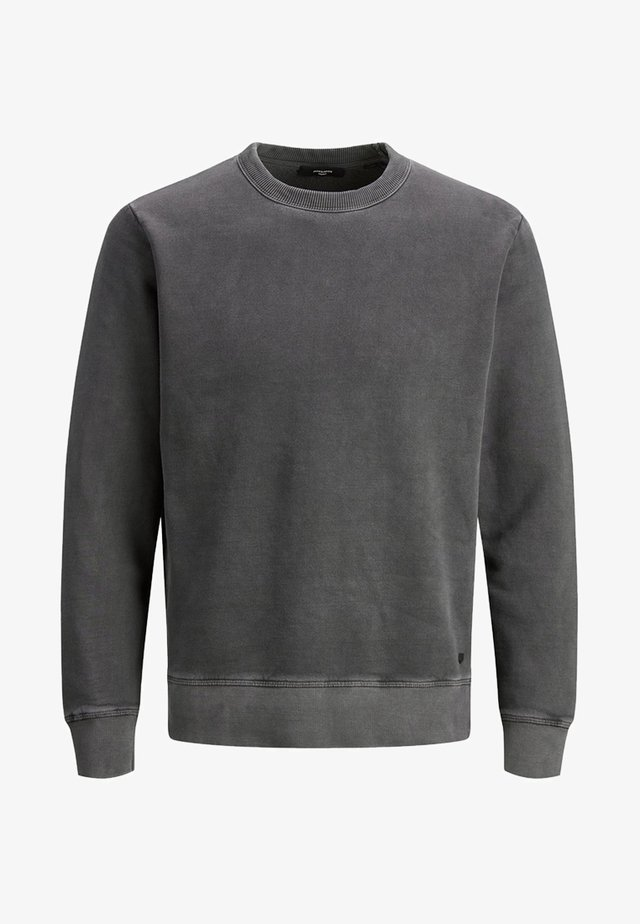 SWEATSHIRT RUNDHALSAUSSCHNITT - Sweatshirts - black