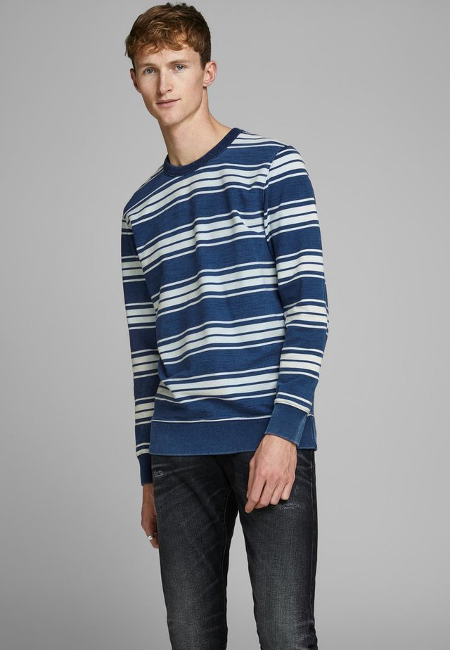 Sweatshirt - denim blue