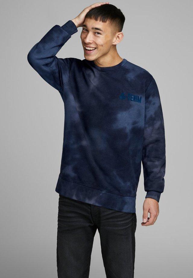 SWEATSHIRT BATIK - Sweatshirt - dark blue denim