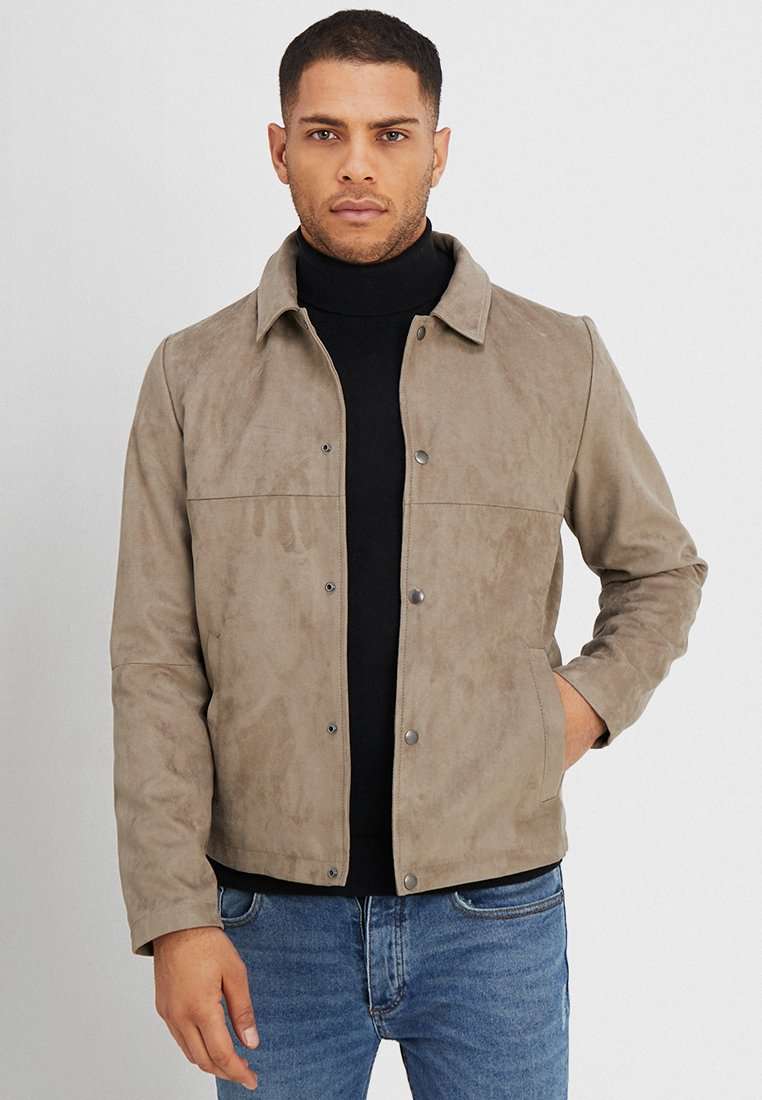 Jack & Jones PREMIUM - JPRBLAIR JACKET - Summer jacket - fallen rock