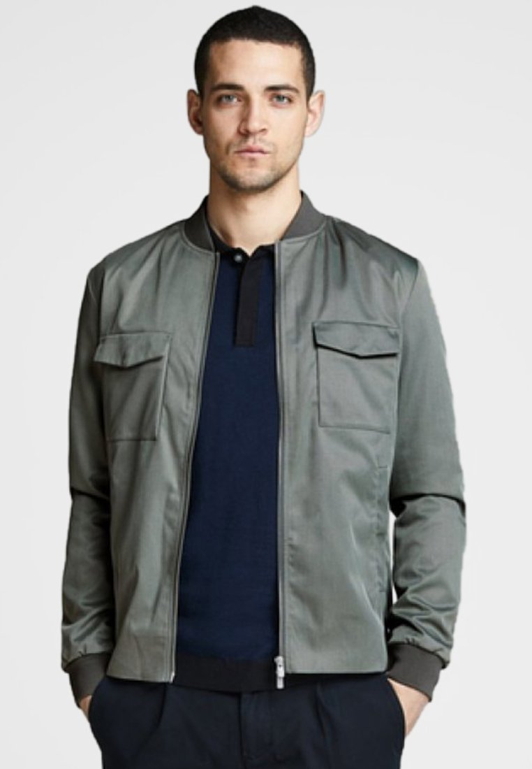 Jack & Jones PREMIUM - Bomberjacka - grey