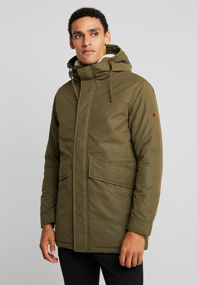 JPRWETFORD - Parka - olive night