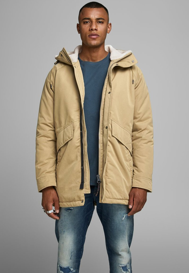 Jack & Jones PREMIUM - JPRWETFORD - Parka - brown