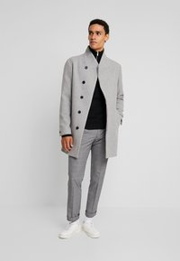 Jack & Jones PREMIUM - JPRCOLLUM - Short coat - light grey melange - 1