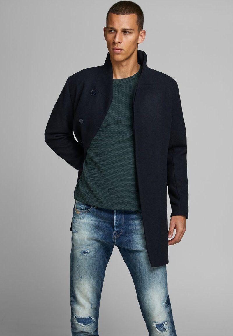 Jack & Jones PREMIUM - JPRCOLLUM - Short coat - dark navy