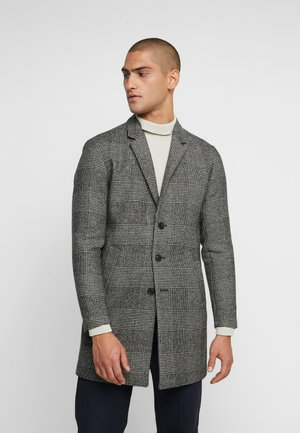JPRMOULDER CHECK COAT - Kappa / rock - grey melange