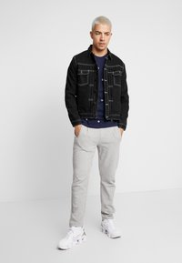 Jack & Jones PREMIUM - JJIWILLIAM JJJACKET - Džínová bunda - black denim - 1
