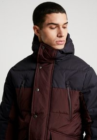 Jack & Jones PREMIUM - JPRICEBREAKER PUFFER JACKET - Zimní bunda - fudge - 4