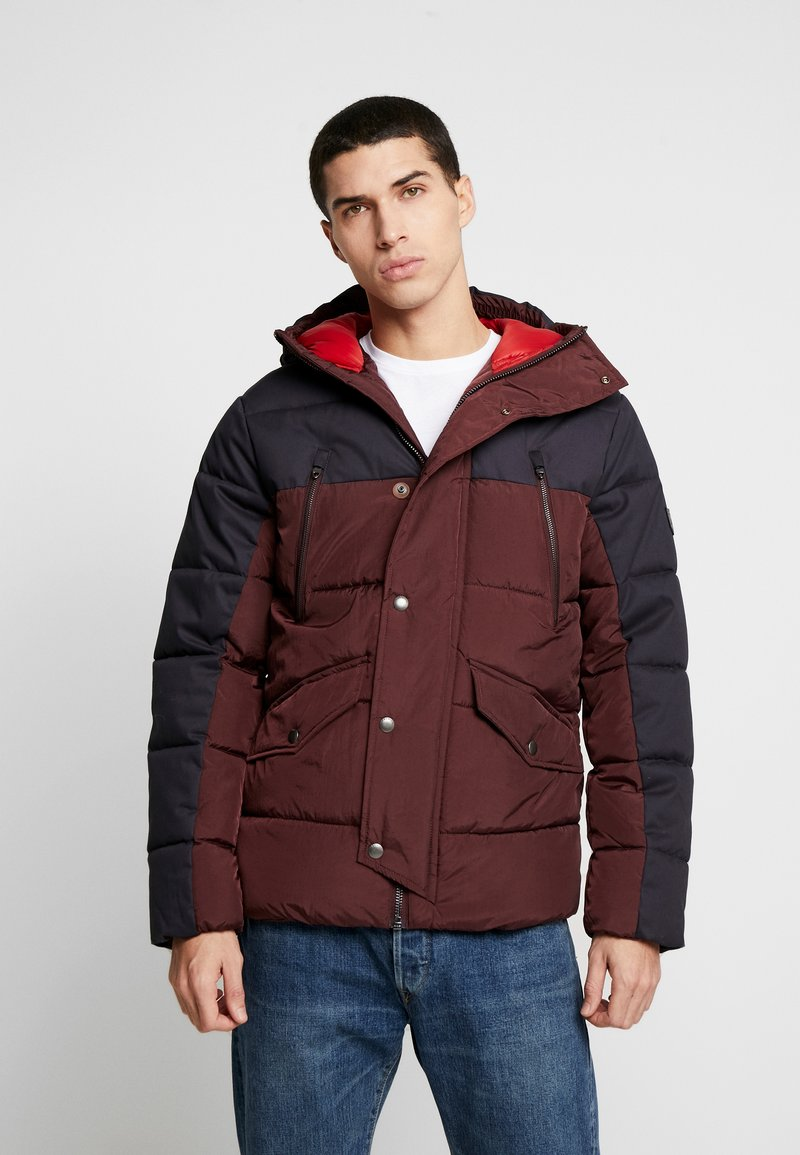 Jack & Jones PREMIUM - JPRICEBREAKER PUFFER JACKET - Zimní bunda - fudge