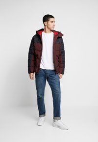 Jack & Jones PREMIUM - JPRICEBREAKER PUFFER JACKET - Zimní bunda - fudge - 1