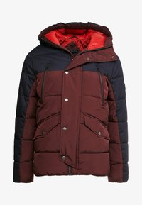 Jack & Jones PREMIUM - JPRICEBREAKER PUFFER JACKET - Zimní bunda - fudge - 3
