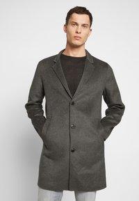 Jack & Jones PREMIUM - JPRFLOW  - Krátký kabát - light grey melange - 0