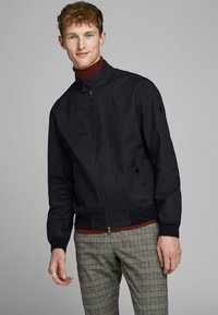 Jack & Jones PREMIUM - HARRINGTON - Kurtka Bomber - dark navy - 0