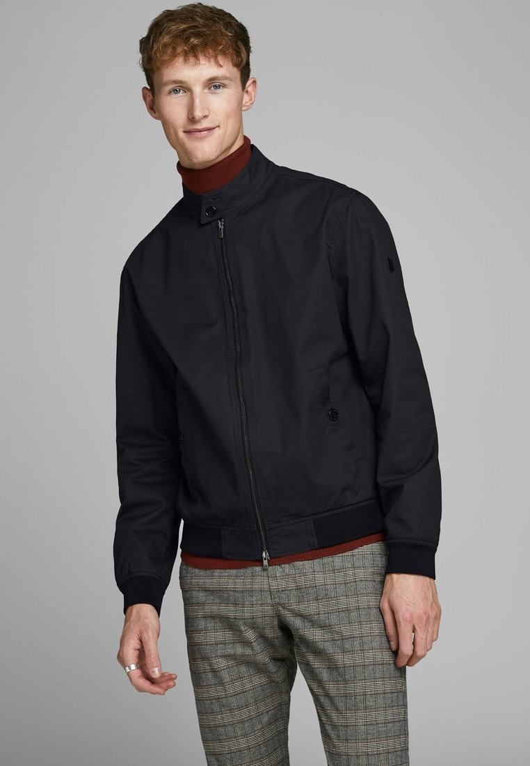 Jack & Jones PREMIUM - HARRINGTON - Kurtka Bomber - dark navy