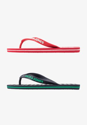 JRFLIP FLOP 2 PACK - Pool shoes - barbados cherry