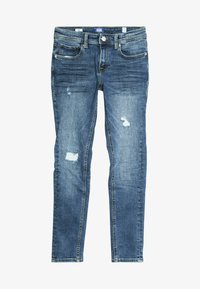 Jack & Jones Junior - JJILIAM JJIORIGINAL - Vaqueros pitillo - blue denim - 3
