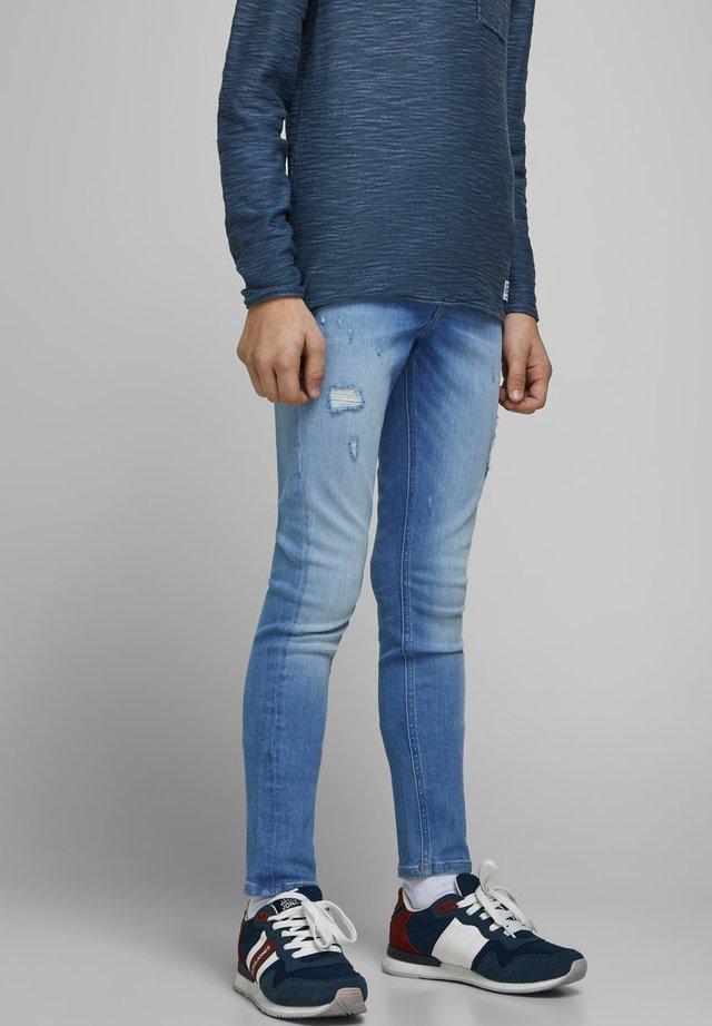JUNGS - Jeans Skinny Fit - blue denim