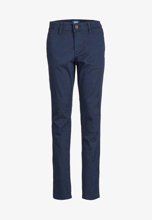 Chino - navy blazer