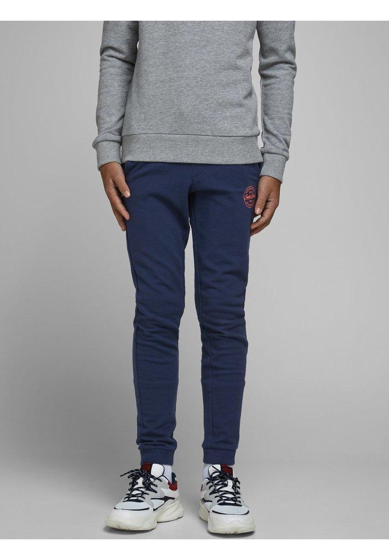 Jack & Jones Junior - JJIGORDON - Pantalones deportivos - navy blazer