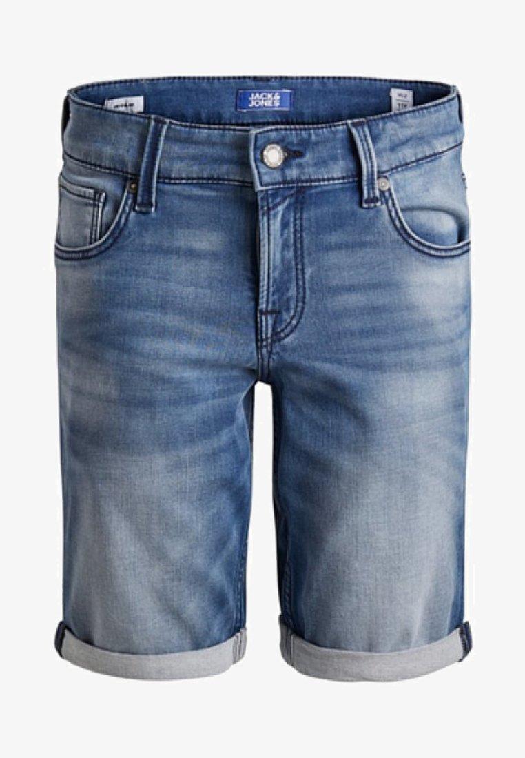 Jack & Jones Junior - Denim shorts - blue denim