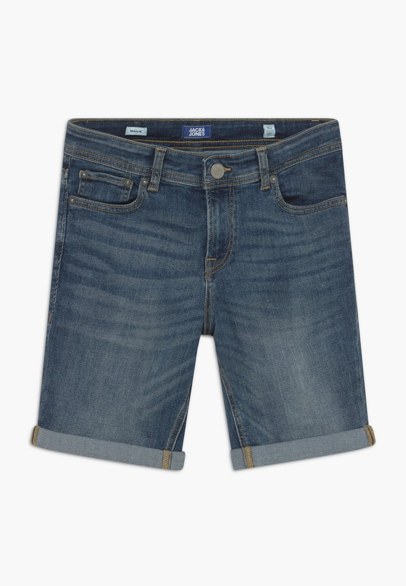 Jack & Jones Junior - JJIRICK - Jeansshort - blue denim