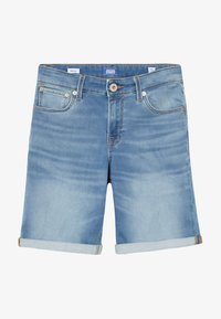 Jack & Jones Junior - JJIRICK JJICON - Denim shorts - blue denim - 2