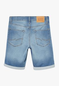 Jack & Jones Junior - JJIRICK JJICON - Denim shorts - blue denim - 1