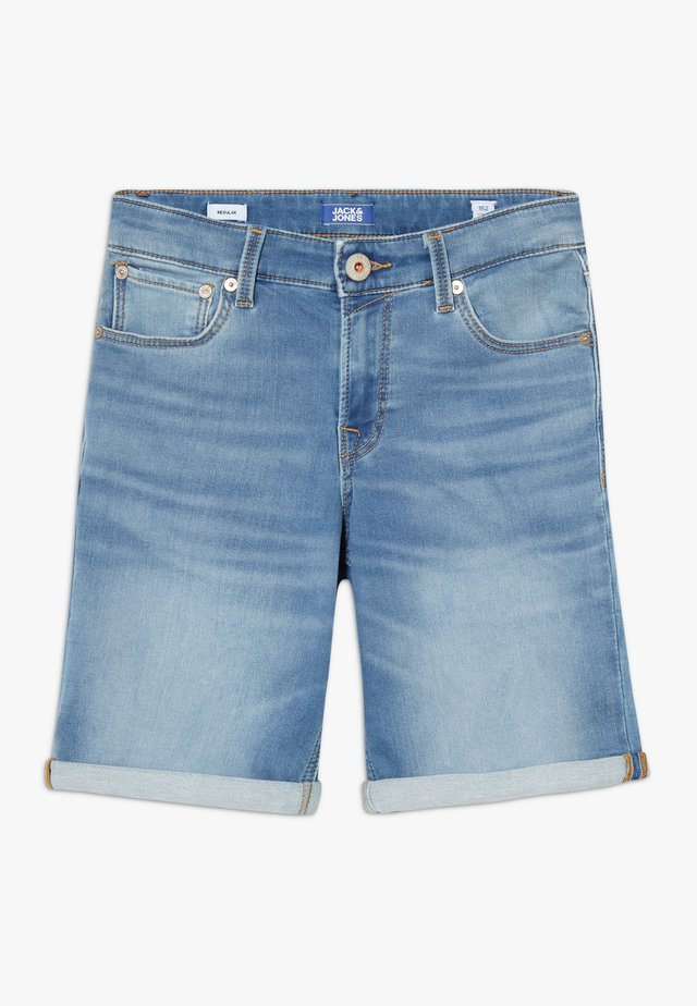 JJIRICK JJICON - Farkkushortsit - blue denim