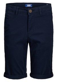 Jack & Jones Junior - JJIBOWIE JJSHORTS SOLID SA JR - Shorts - navy blazer - 0