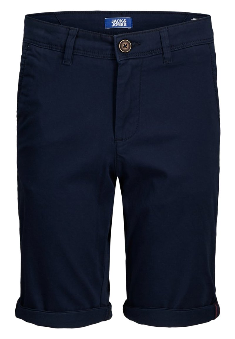 Jack & Jones Junior - JJIBOWIE JJSHORTS SOLID SA JR - Shorts - navy blazer