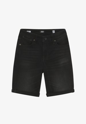 JJIRICK - Jeansshort - black denim
