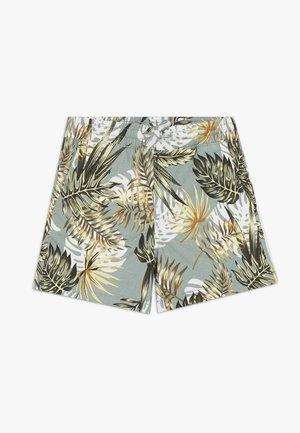 JJIFREE JOGGER SHORTS FLOWER - Shorts - green milieu